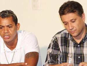 Marcelinho Paraíba entrevista coletiva (Foto: Leonardo Silva / Jornal da Paraíba)