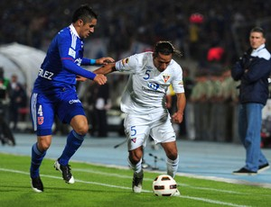 ambrosi gonzalez  universidad do chile x ldu (Foto: AFP)