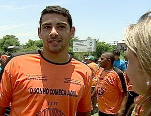 FRAME Diego Souza em projeto dde futebol (Foto: Reprodução)