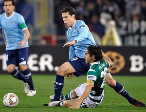 Hernanes, Lazio x Sporting (Foto: AP)
