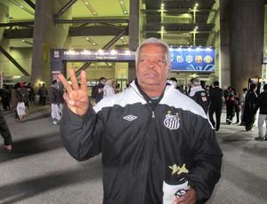 Lima, ex-jogador do Santos (Foto: Adilson Barros / Globoesporte.com)