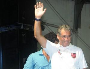 rondinelli festa flamengo mundial festa (Foto: André Durão/Globoesporte.com)