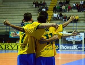 Futsal Brasil Costa Rica (Foto: Divulgação/CBFS)