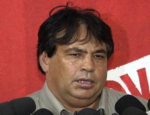 Jair Rabelo, diretor de futebol do Vila Nova (Foto: Reprodução/TV Anhanguera)