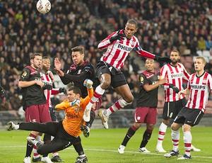 Marcelo, PSV Eindhoven x Rapid Bucuresti (Foto: Reuters)