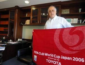 Fernando Carvalho lembra o Mundial do Inter (Foto: Lucas Rizzatti)