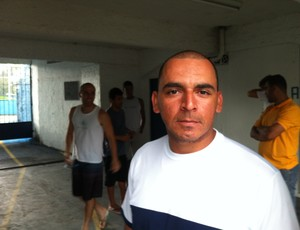 Preparador físico Wesley Martinelli, do Vitória. (Foto: Bruno Marques/GloboEsporte.com)