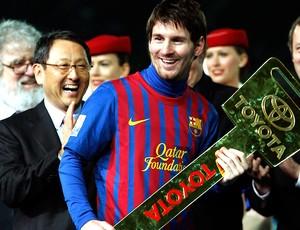 Messi ganha o prêmio de melhor jogador do Mundial (Foto: Reuters)
