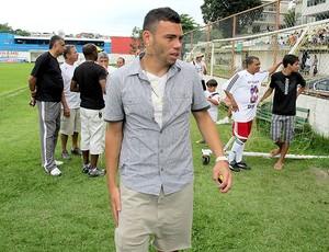 Rodolfo pelada Diego Souza Vasco (Foto: Gustavo Rotstein / Globoesporte.com)