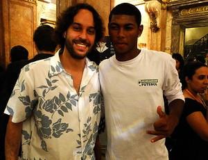 gabriel, o pensador pupilo prêmio Brasil olímpico (Foto: Helena Rebello / Globoesporte.com)