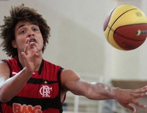 fred duarte flamengo basquete (Foto: Célio Messias/LNB)