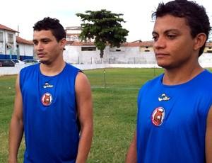 Niel e Netinho já atuaram juntos na bela campanha do Guaraju em 2011 (Foto: Diego Morais / Globoesporte.com)