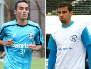 Lucio André Lima Grêmio (Foto: Montagem sobre foto do Globoesporte.com)