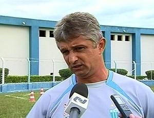 Lucho Nizzo, técnico do Crac (Foto: Reprodução/TV Anhanguera)