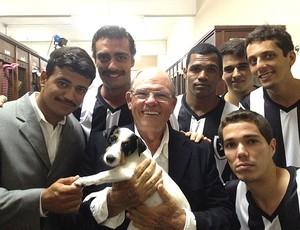 atores história botafogo (Foto: TV Globo)