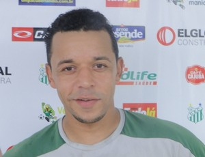 Carlos Antônio Pereira Bispo, Kadu, atacante do UEC (Foto: Ascom UEC)