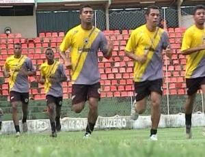 Frame: Mamoré, de Patos de Minas, confirma amistosos para Janeiro (Foto: Reprodução/ TV Integração)