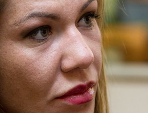 Cris Cyborg, lutadora de MMA (Foto: Ideraldo Gomes / Globoesporte.com)