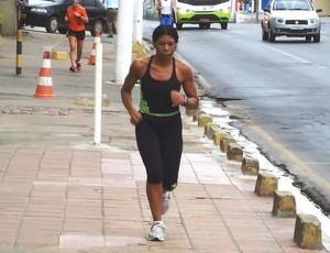 Dona leo corrida de rua (Foto: Arquivo Pessoal)