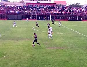 Figueirense e Nacional pela Copa SP de Futebol Júnior (Foto: Divulgação / Nacionial)