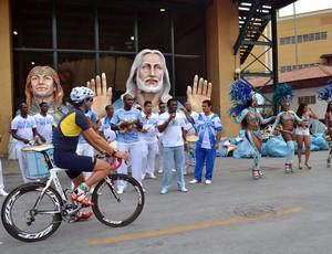 Soelito Gohr bike (Foto: Ana Carolina Fontes / Globoesporte.com)