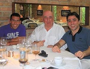 Reprodução gazzetta dello sport tevez adriano galliani kia jantar acordo (Foto: Reprodução gazzetta dello sport)