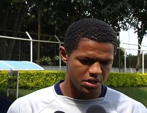 Maycki, goleiro da Aparecidense (Foto: Reprodução/TV Anhanguera)