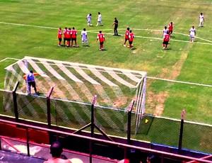 Naça vence por 3 a 2 o Flamengo pela Copa SP 1 (Foto: Divulgação/Nacional)
