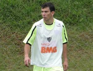 leandro donizete ATLÉTICO-MG    (Foto: Leonardo Simonini/Globoesporte.com)