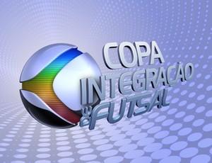 Logo da Copa Integração de Futsal 2012 (Foto: Reprodução/ TV Integração)