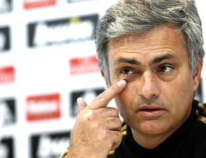 José Mourinho durante coletiva do Real Madrid (Foto: EFE)