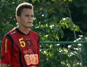 Renê, lateral do Sport (Foto: Lula Moraes / GloboEsporte.com)