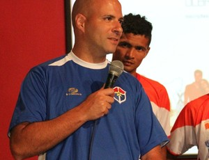 Técnico Paulo Morgado (Foto: Frank Cunha / Globoesporte.com)