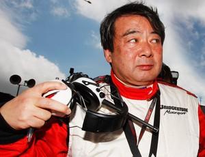 Hirohide Hamashima, ex-diretor da Bridgestone ferrari (Foto: Agência Getty Images)