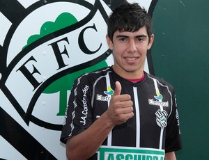 Figueirense   Saldívar (Foto: Carlos Amorim/Figueirense Futebol Clube)