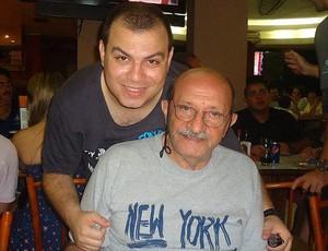 Cassius com o pai (Foto: Divulgação / Arquivo Pessoal)