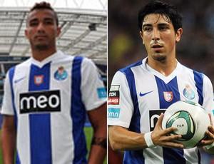montagem - Danilo e Fucile do Porto (Foto: Editoria de Arte/Globoesporte.com)