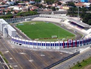Vila Capanema, estádio do Paraná Clube (Foto: Divulgação/Site oficial do Paraná)