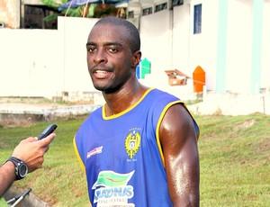 Leonardo atacante do Naça=18-01-2012 (Foto: Frank Cunha / Globoesporte.com)