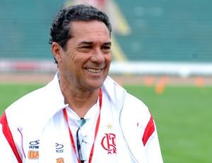 Luxemburgo no treino do Flamengo (Foto: Alexandre Vidal / Fla Imagem)
