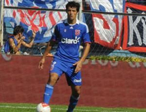 Marcos González pela Universidad de Chile (Foto: Divulgação/Site Oficial da Universidad de Chile)