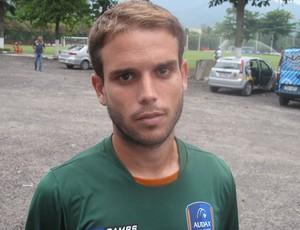 Nélio, ex-Flamengo, meia do Audax Rio (Foto: André Casado/Globoesporte.com)