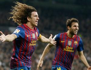 puyol real madrid  x barcelona (Foto: Reuters)