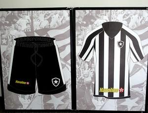 uniforme camisa botafogo (Foto: Thales Soares / Globoesporte.com)