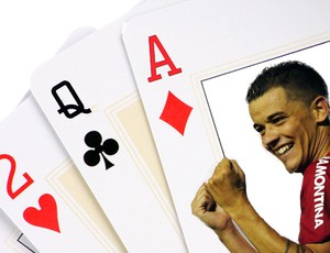 D'Alessandro dá as cartas  (Foto: Arte sobre foto de Alexandre Lops/Divulgação)