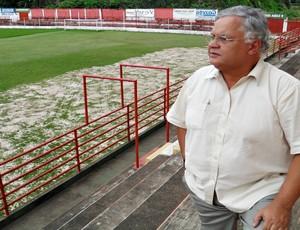 Edilson Oliveira, presidente do Guarani-MG (Foto: Cleber Corrêa/GLOBOESPORTE.COM)