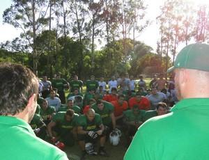 seleção brasileira de futebol americano (Foto: Divulgação / Afab)