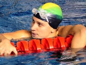 Thamy Ventorin, nadadora capixaba que acertou com o Flamengo para 2012 (Foto: Fábio Vicentini/Cedoc A Gazeta)