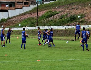 Treino do Nacional no CT Barbosa Filho (Foto: Frank Cunha / Globoesporte.com)