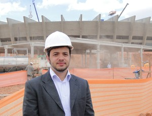 Vinícius Lott, gerente do projeto Copa Sustentável (Foto: Ana Paula Moreira / Globoesporte.com)